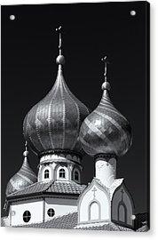 Domes Acrylic Print