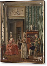 Domestic Scene Acrylic Print by Celestial Images