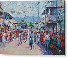 Dominica Carnival Acrylic Print