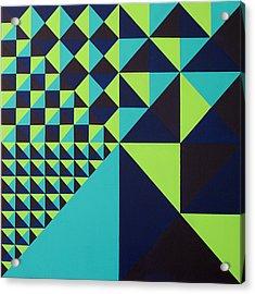 Domino Theory Acrylic Print