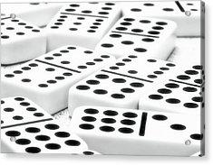 Dominoes I Acrylic Print by Tom Mc Nemar