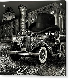 Don Cadillacchio Black And White Acrylic Print by Marian Voicu