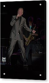 Don Most Singing Acrylic Print by Timothy Ruf