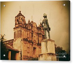 Acrylic Print featuring the photograph Don Quixote  by Charles McKelroy