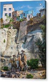Don Quixote Y Sancho Panza Acrylic Print