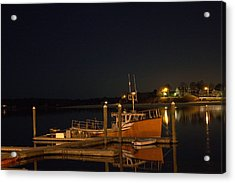 Acrylic Print featuring the photograph Done Fishing by Greg DeBeck