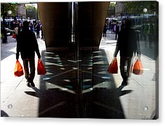 Done The Shopping Acrylic Print by Jez C Self