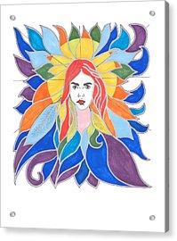 Donna Soul Portrait Acrylic Print