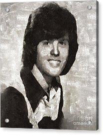 Donny Osmond, Singer Acrylic Print