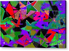 Don't Ask  Don't Tell Acrylic Print by Beebe  Barksdale-Bruner
