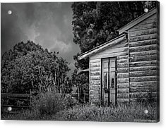 Don't Come Knockin' Acrylic Print by Wallaroo Images