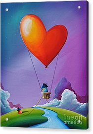 Don't Let Love Slip Away Acrylic Print