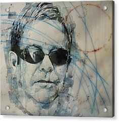 Acrylic Print featuring the painting Don't Let The Sun Go Down On Me  by Paul Lovering