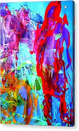 Dont Look Back Acrylic Print by Bruce Combs - REACH BEYOND