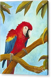 Dont Ruffle My Feathers Acrylic Print