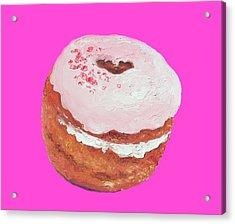 Donut Painting Acrylic Print
