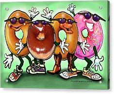 Donut Party Acrylic Print
