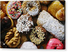Acrylic Print featuring the photograph Donuts by Vivian Krug Cotton