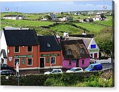 Doolin Village County Clare Acrylic Print