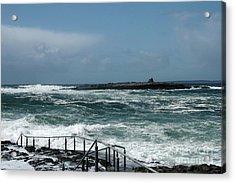 Doolin Waves Acrylic Print