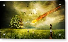 Doomsday Acrylic Print by FL collection
