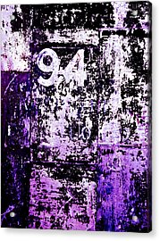 Door 94 Perception Acrylic Print by Bob Orsillo