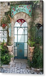 Door Entrance To The Art Acrylic Print by Yoel Koskas