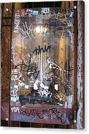 Door Honolulu Acrylic Print by Kevin Callahan