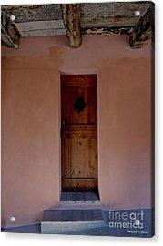 Door In Brisighella, Italy Acrylic Print by Italian Art