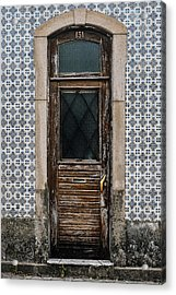 Acrylic Print featuring the photograph Door No 151 by Marco Oliveira