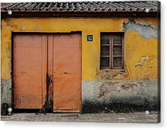Acrylic Print featuring the photograph Door No 162 by Marco Oliveira
