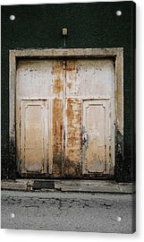 Acrylic Print featuring the photograph Door No 163 by Marco Oliveira