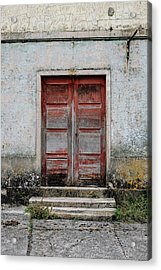 Acrylic Print featuring the photograph Door No 175 by Marco Oliveira