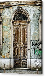 Door No 35 Acrylic Print by Marco Oliveira
