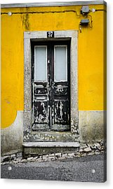 Door No 37 Acrylic Print by Marco Oliveira