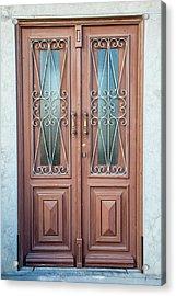 Door Of Algarve Acrylic Print by David Letts