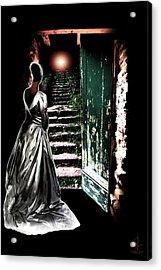 Door Of Opportunity Acrylic Print by Pennie  McCracken