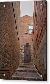 Acrylic Print featuring the photograph Door To 9a by Dan McManus