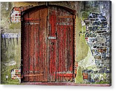 Door To Discovery Acrylic Print by JAMART Photography