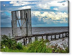 Door To Dock Acrylic Print