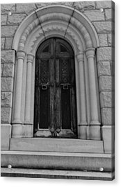 Door To Eternity Acrylic Print by Denise McKay