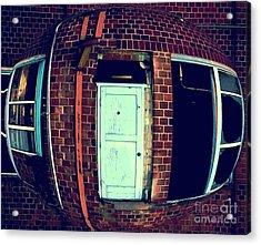 Acrylic Print featuring the photograph Door To Nowhere by Yulia Kazansky