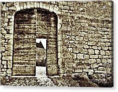 Door To Salvation Acrylic Print