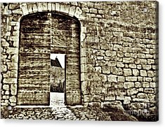 Door To Salvation Acrylic Print by Paul Topp