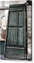 Door To The Roman Gateway Acrylic Print