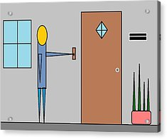 Doorbell Acrylic Print