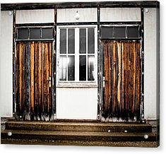 Doors Of Dachau Acrylic Print