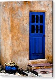 Doors Of Taos Acrylic Print