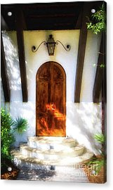 Doors Of The Florida Panhandle # 2 Acrylic Print by Mel Steinhauer