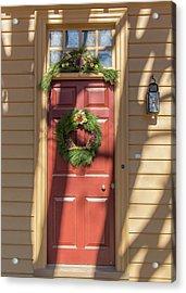Doors Of Williamsburg 76 Acrylic Print